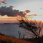 Sunset Over Lanai 2 Poster