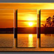 Sunset Poster Poster