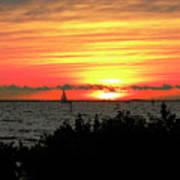 Sunset Punta Gorda Fl Poster