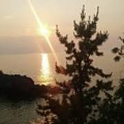 Sunset Scenic Poster