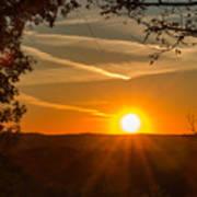 Sunset Vienna West Virginia Poster