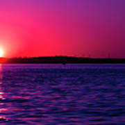 Sunsets Happen Poster