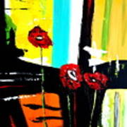 Sunshine And Poppies Poster