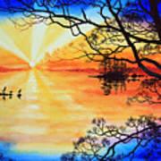 Sunshine On My Shoulders Poster