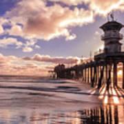 Sunshine Pier Poster
