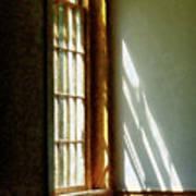 Sunshine Streaming Through Window Poster