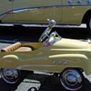Super Buick Toy Car Poster