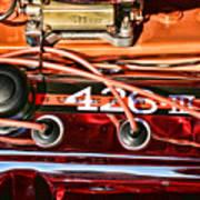 Super Stock Ss 426 IIi Hemi Motor Poster