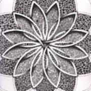 Superfactorial Flower Poster