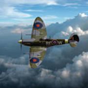 Supermarine Spitfire Vb Poster