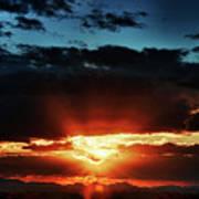 Superstition Sunrise Poster