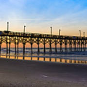 Surf City Fishing Pier Poster