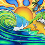 Surf Dude Poster