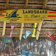 Surf This Tiki Hut Poster