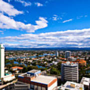 Surfers Paradise View Poster
