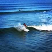 Surfing Boy  Poster