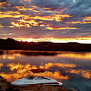 Surise On Lake Powell Poster