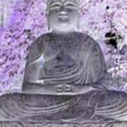 Surreal Buddha Poster