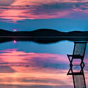 Surreal Sunset Poster by Gert Lavsen
