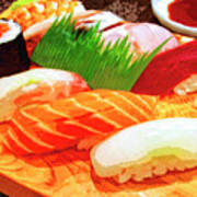 Sushi Plate 1 Poster
