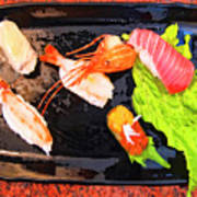 Sushi Plate 2 Poster