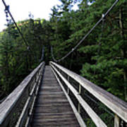 Suspension Bridge 3 Poster