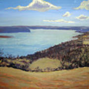 Susquehanna River View Poster