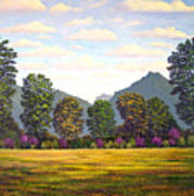Sutter Buttes In Springtime Poster
