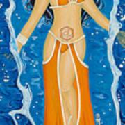 Svadhishthana Sacral Chakra Goddess Poster
