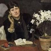 Sven Richard Bergh - The Artist, Julia Beck 1883 Poster