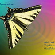 Swallowtail - Come Fly Away With Me Poster