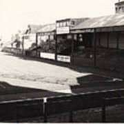 Swansea - Vetch Field - North Bank 1 - Bw - 1960s Poster