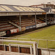 Swansea - Vetch Field - North Bank 2 - 1970s Poster