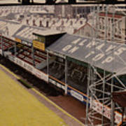 Swansea - Vetch Field - North Bank 3 - 1970s Poster