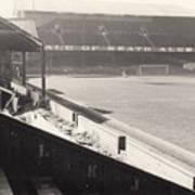 Swansea - Vetch Field - West Terrace 2 - Bw - 1960s Poster