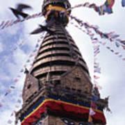 Swayambhunath Poster