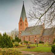 Swedish Brick Church Poster