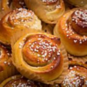 Swedish Cinnamon Rolls Poster