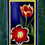 Sweetheart Tulips Poster