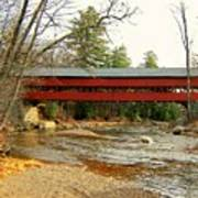 Swift River Covered Bridge Poster