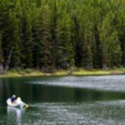 Swiftcurrent Lake Many Glacier Montana Poster