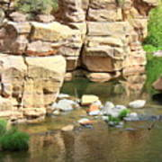 Swimming Hole At Slide Rock Poster