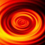 Swirled Sunrise Poster