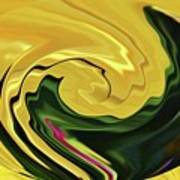 Swirling Colors Poster