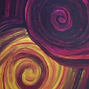 Swirls Of Wonder Poster