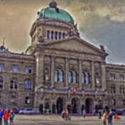 Swiss Federal Palace Poster