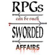 Sworded Affairs Light Poster