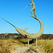 Swordfish Harpooner Poster