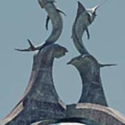 Swordfish Sculpture Poster