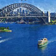 Sydney Harbor Bridge Poster